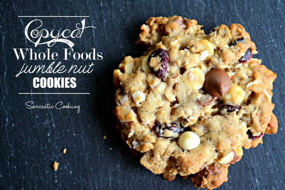 Copycat Whole Foods Jumble Nut Cookies