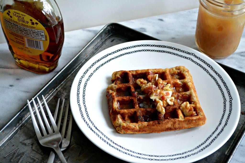 Bacon Banana Nut and Oat Waffles | Sarcastic Cooking