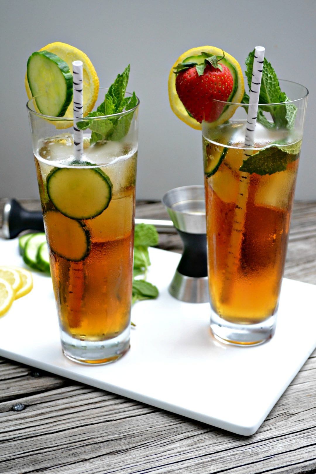 Cucumber ginger pimm s cup for What to mix with pimms