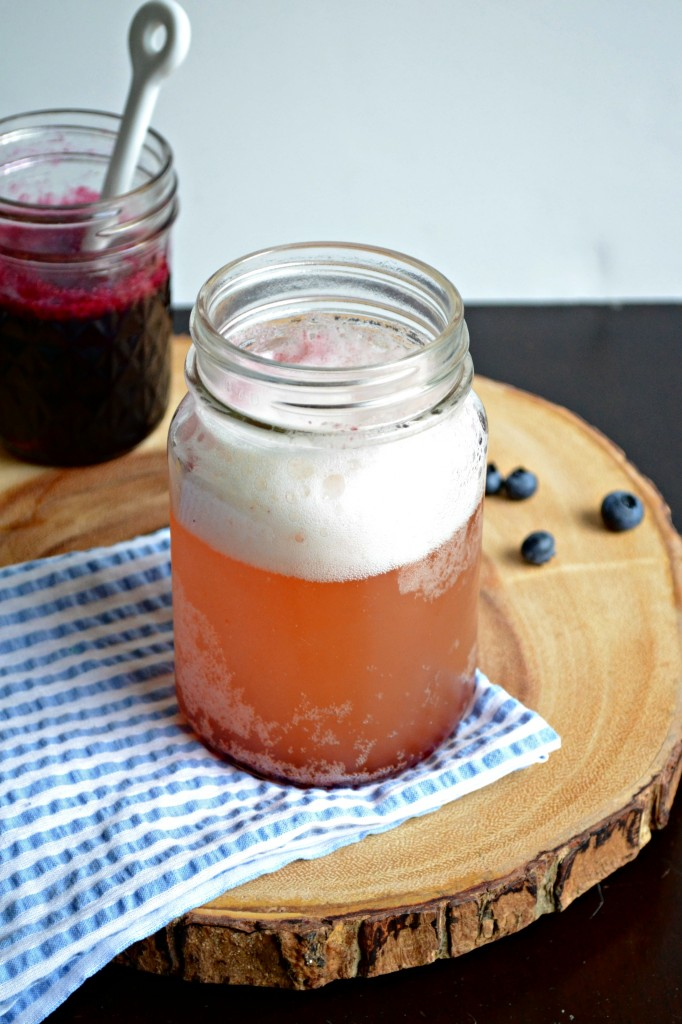 Blueberry Shandy | Sarcastic Cooking