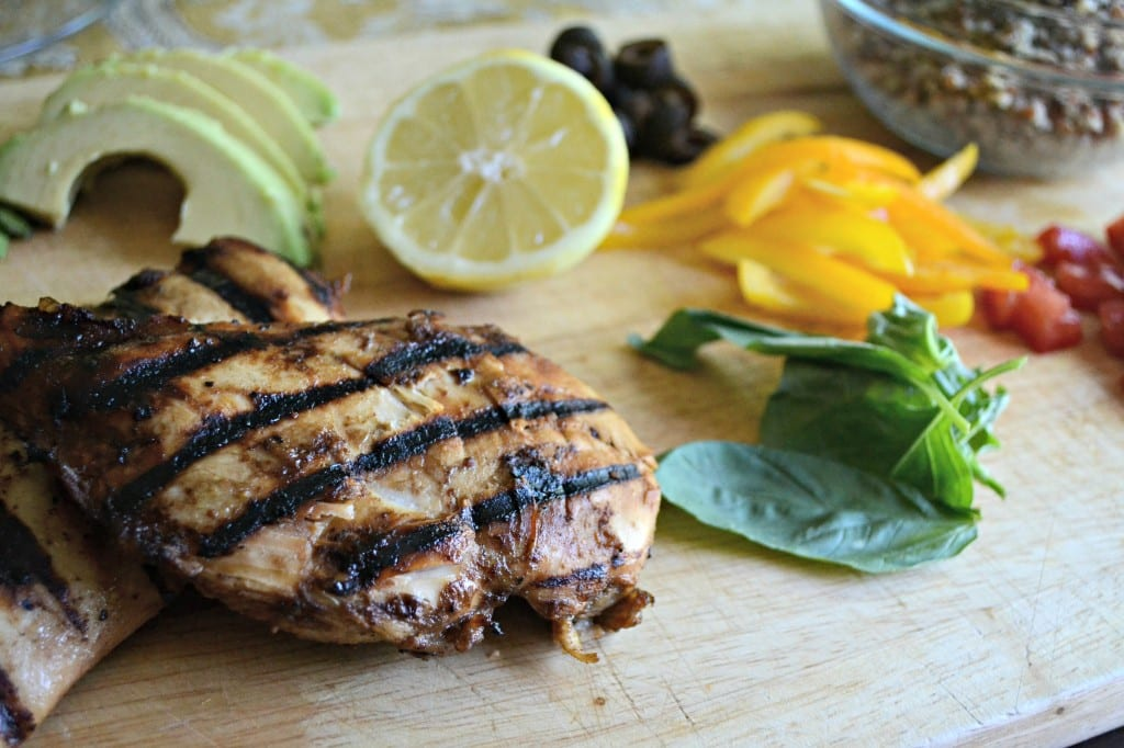 Balsamic Lemon Grilled Chicken