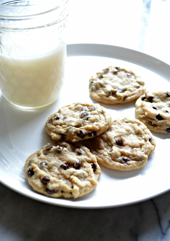 Mini Chocolate Chip Cookies | Sarcastic Cooking