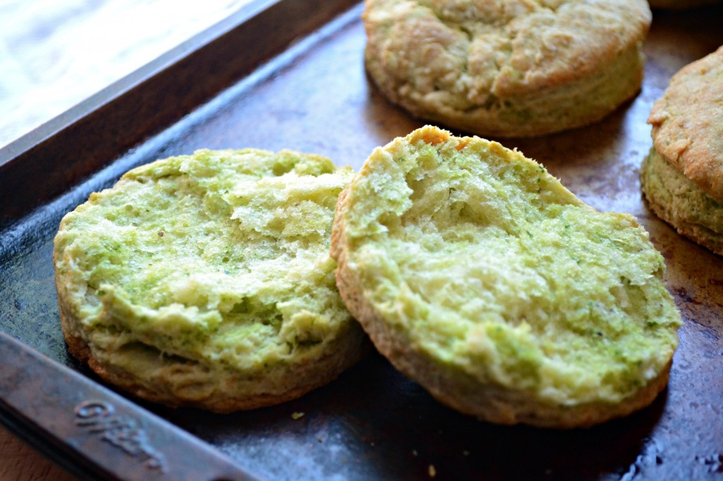 Arugula and Spinach Pesto Buttermilk Biscuits   Sarcastic Cooking