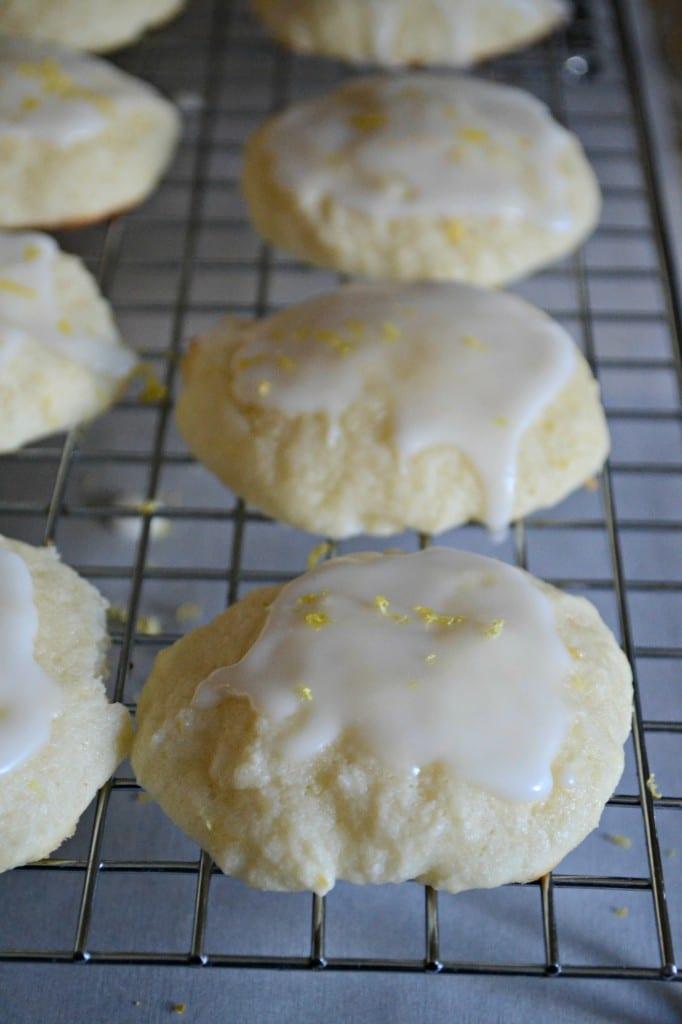 Glazed Lemon Ricotta Cookies   Sarcastic Cooking