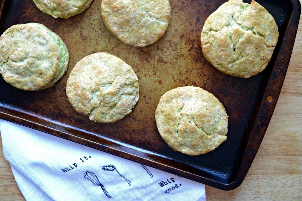 Pesto Buttermilk Biscuits