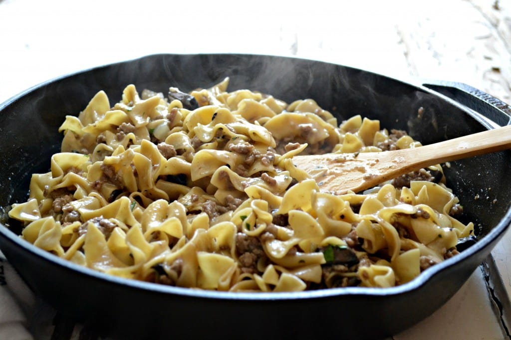Light and Easy Skillet Stroganoff | Sarcastic Cooking