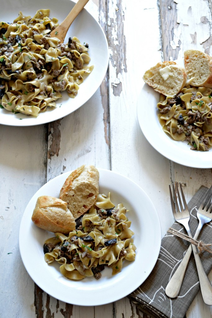 Light and Easy Skillet Stroganoff   Sarcastic Cooking