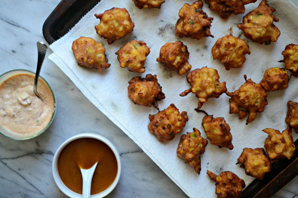 BBQ Chicken and Corn Fritters | Sarcastic Cooking