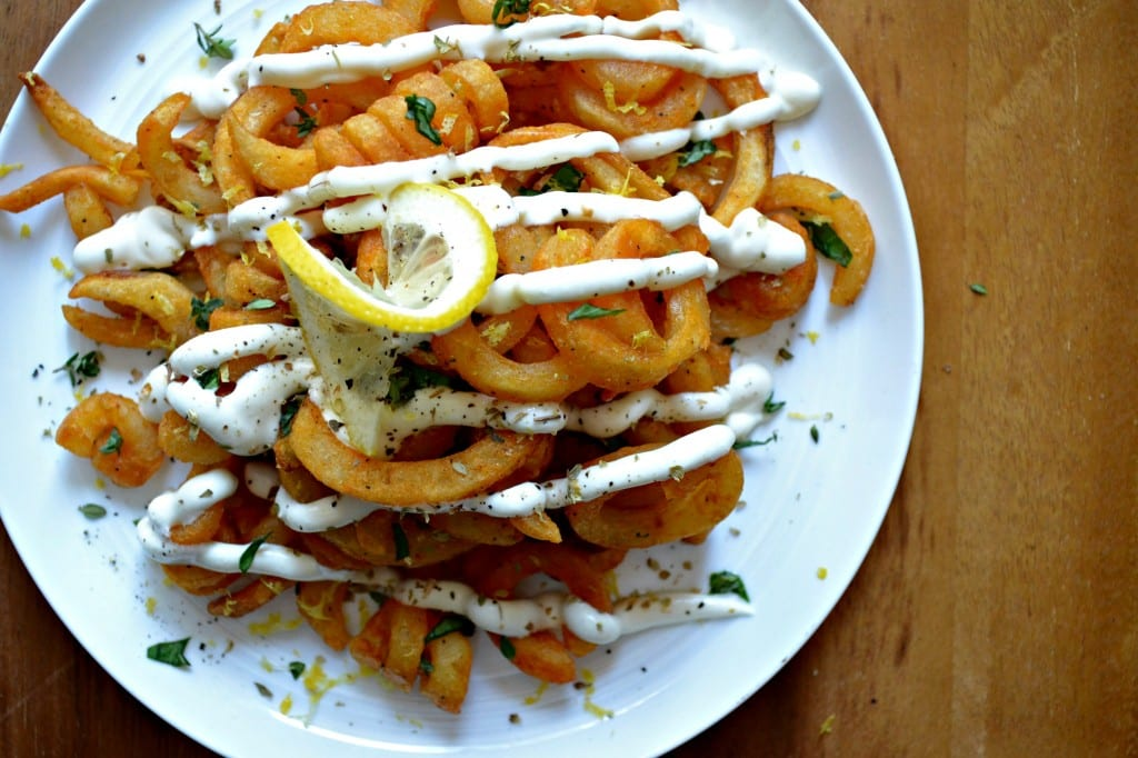Greek Curly Fries    Sarcastic Cooking