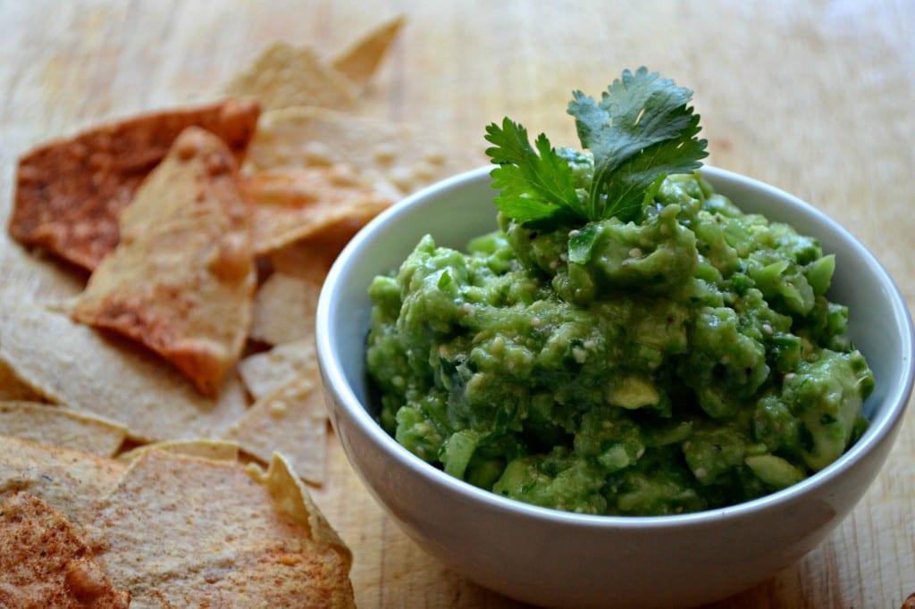 Salsa Verde Guacamole | @sarcasticcook