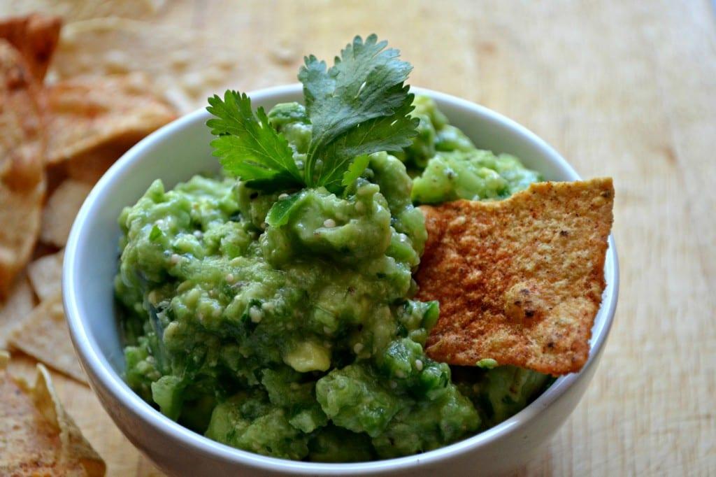 Salsa Verde Guacamole | Sarcastic Cooking
