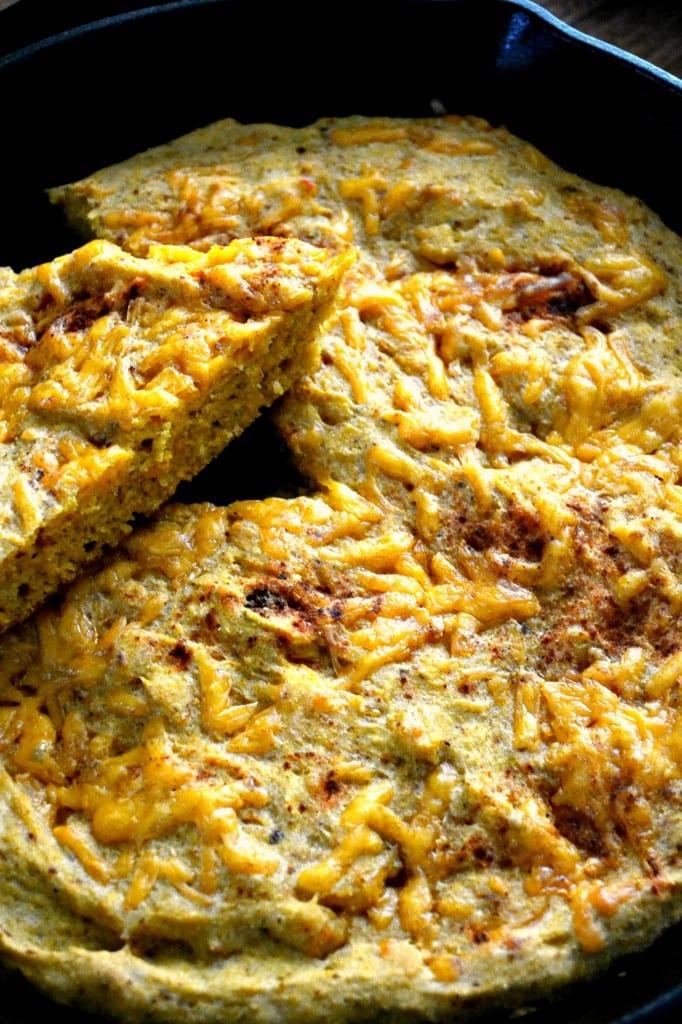 Gluten Free Chipotle Cheddar Pumpkin Cornbread