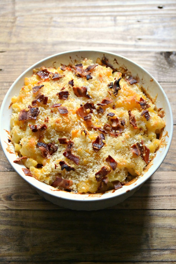 Obsessed with Cheese Mac and Cheese with Bacon @sarcasticcook #seriouslydelish