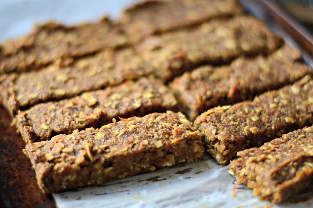 Carrot and Date Granola Bars @sarcasticcook