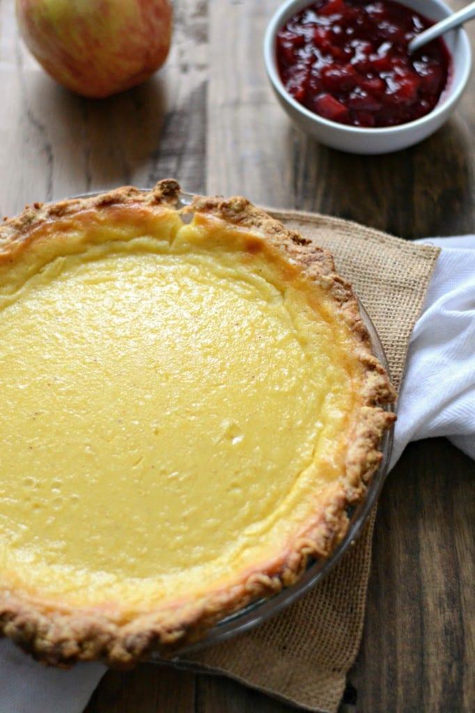 Hard Apple Cider Custard Pie   Sarcastic Cooking