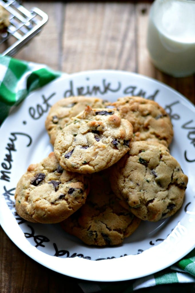 Fresh Mint and Dark Chocolate Cookies | Sarcastic Cooking