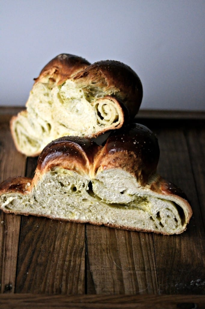 Pesto Challah | Sarcastic Cooking