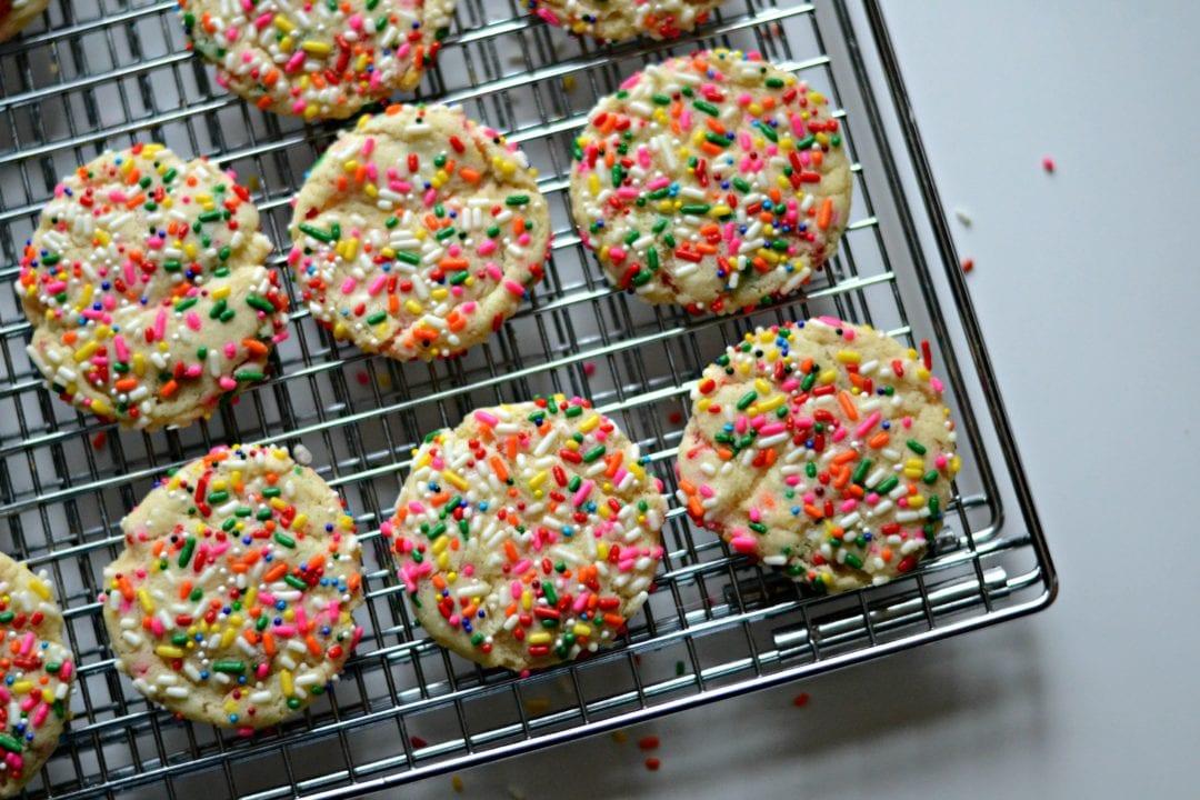 Vanilla Bean Confetti Cookies | Sarcastic Cooking