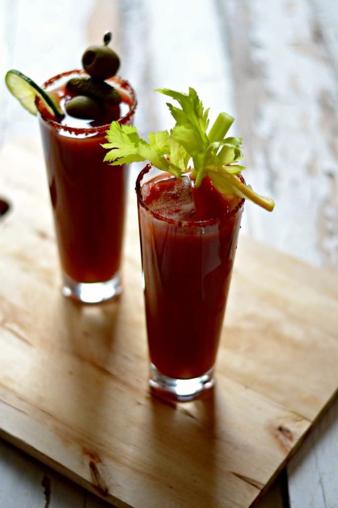 Red Snapper (a spicy bloody mary with gin)| Sarcastic Cooking