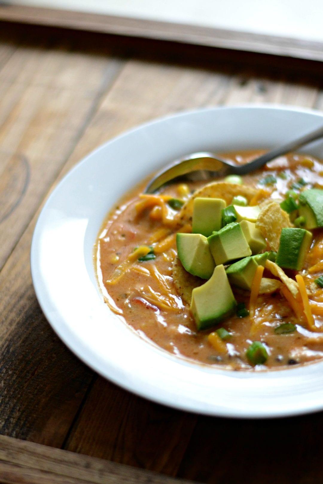 Creamy Chicken Tortilla Soup | Sarcastic Cooking