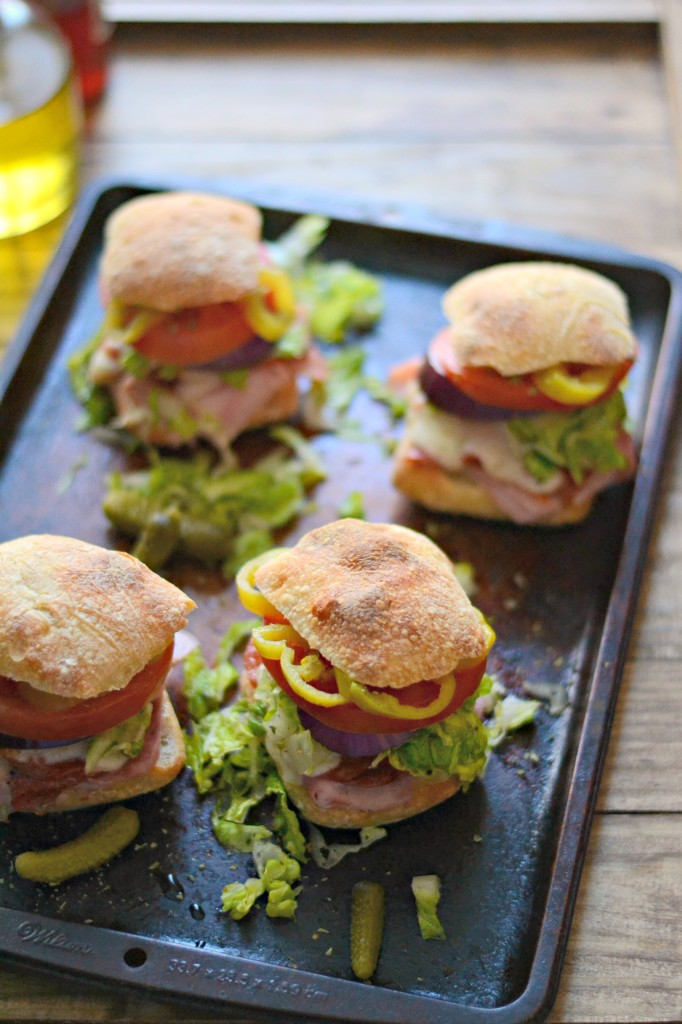 What's for dinner? Mini Hot Italian Subs (20 minute dinner!) Sarcastic Cooking
