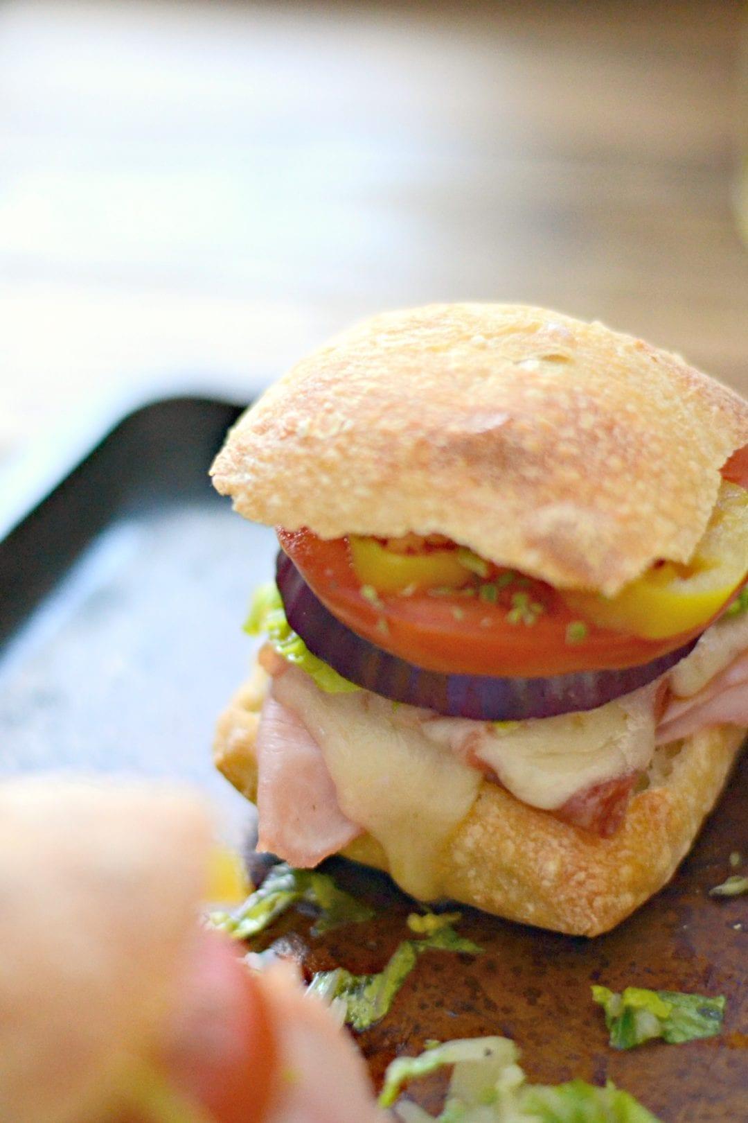 Mini Hot Italian Subs | Sarcastic Cooking