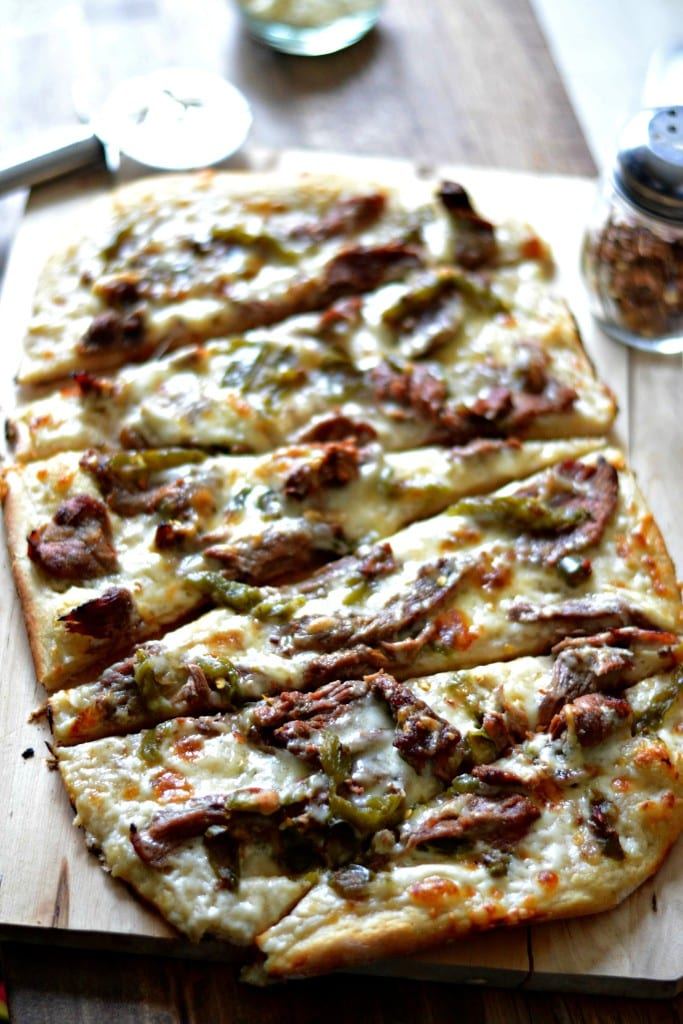Philly Cheesesteak Pizza | Sarcastic Cooking