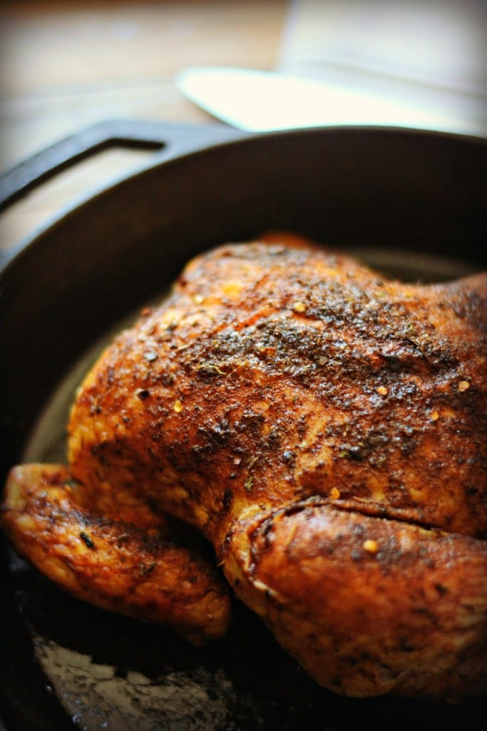 Faux Rotisserie Chicken Two Ways (Crock Pot and Oven) | Sarcastic Cooking