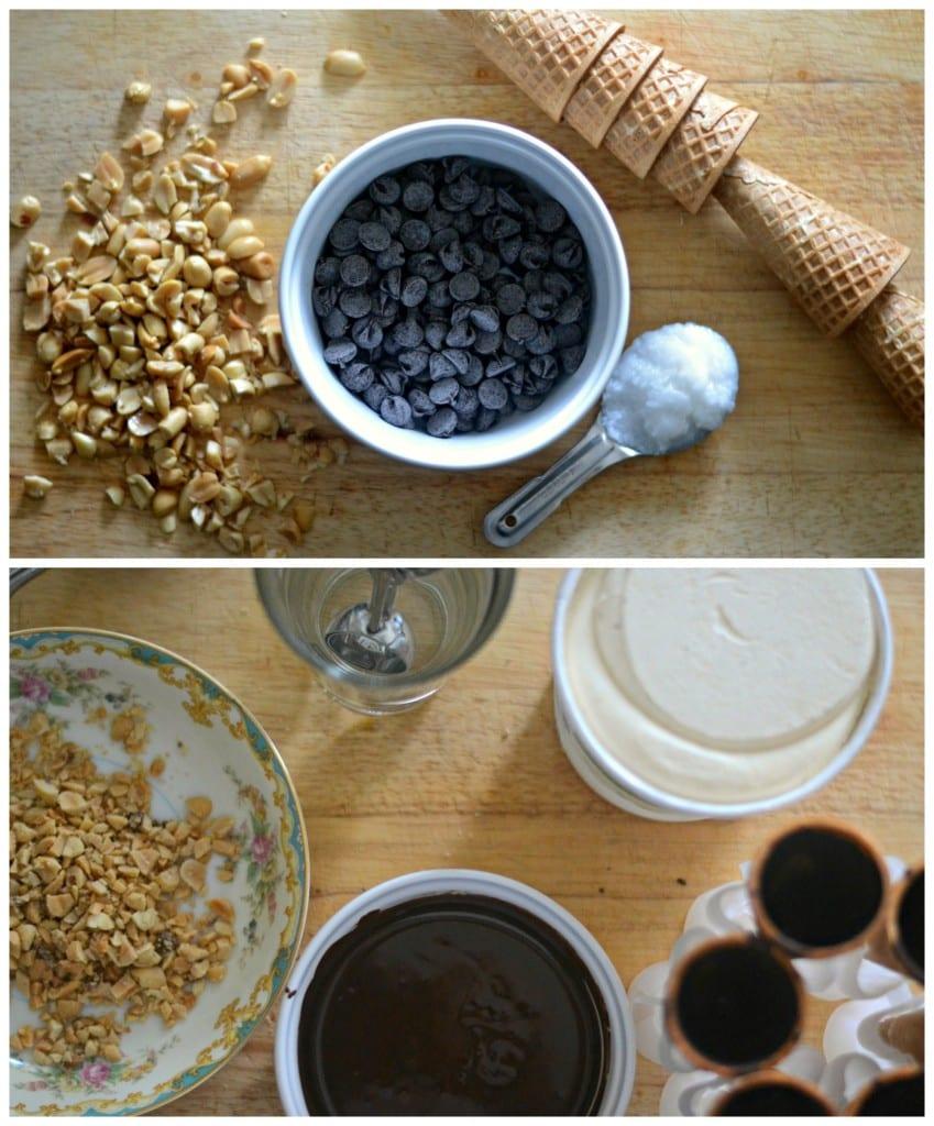 DIY Drumstick Ice Cream Cones