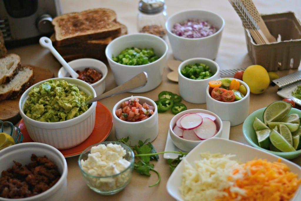 IDY Avocado Toast Bar for Brunch Week