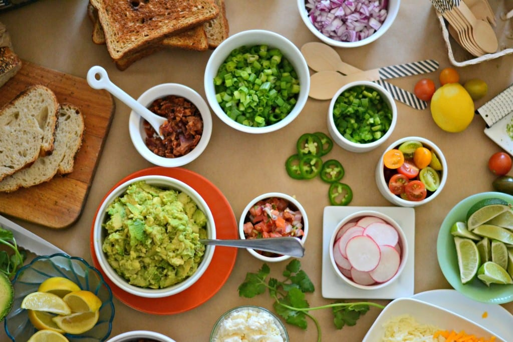 BrunchWeek Avocado Toast Bar | Sarcastic Cooking