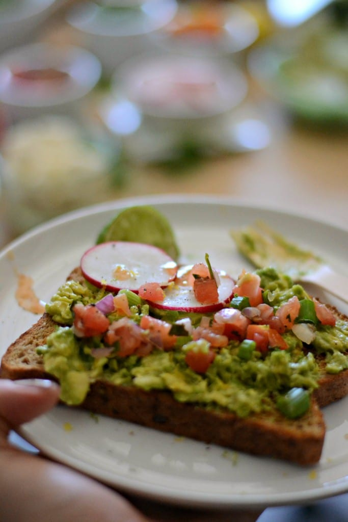 BrunchWeek: Avocado Toast Bar
