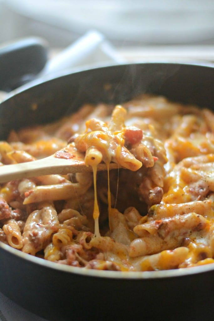 Chili Cheese Dip One Pot Pasta | Sarcastic Cooking #whatsfordinner