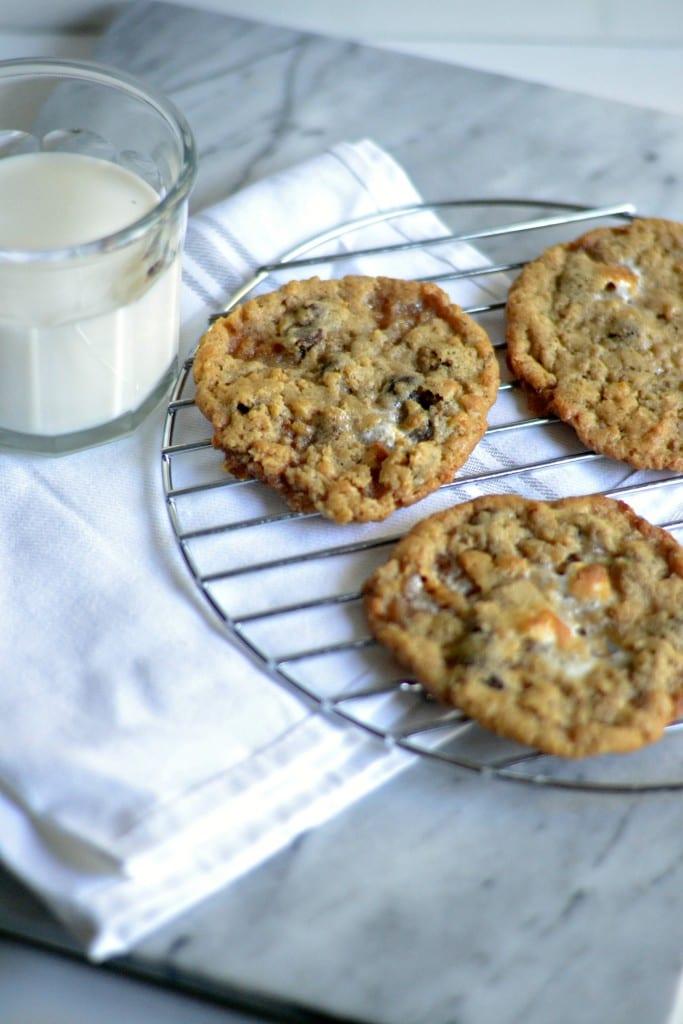 Chocolate Chip Rice Krispy Treat Cookies   Sarcastic Cooking @sarcasticcook