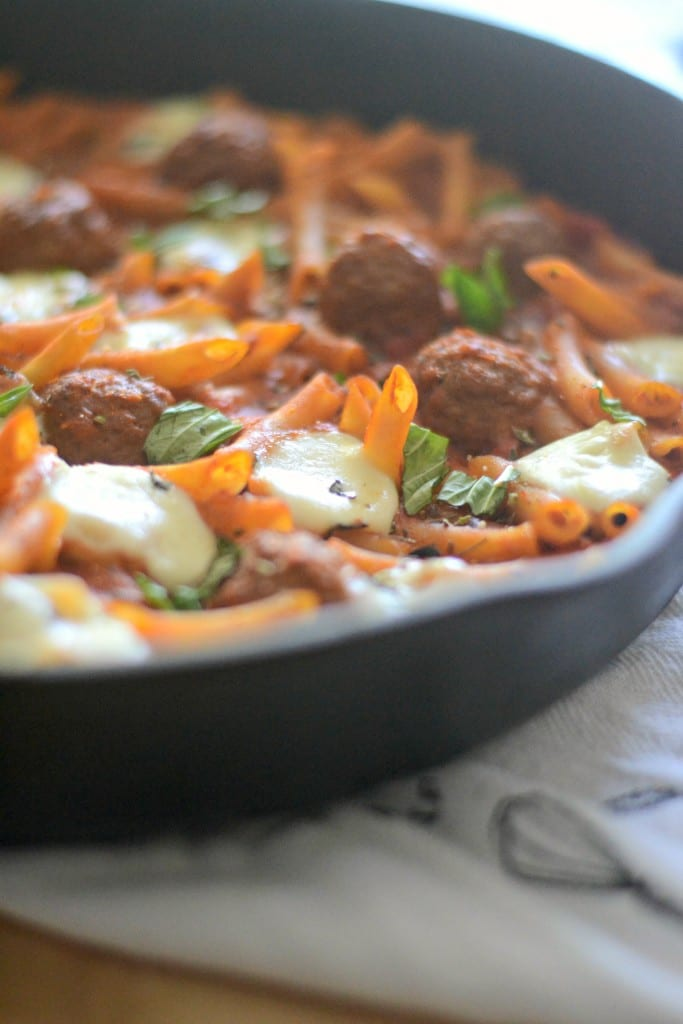 #whatsfordinner One Pot Mini Meatball Penne | Sarcastic Cooking