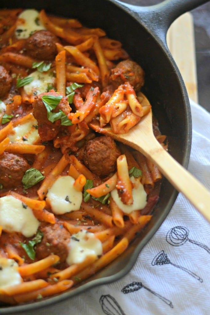 One Pot Mini Meatball Penne | Sarcastic Cooking @sarcasticcook
