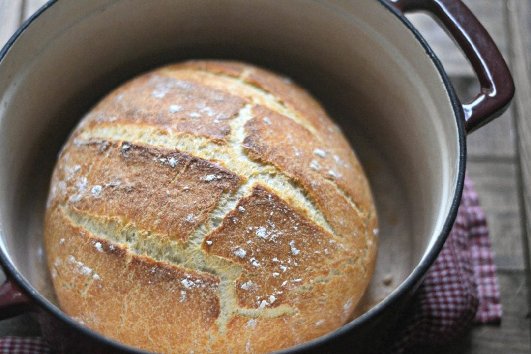 No-Knead Pumpkin Beer Bread | Sarcastic Cooking