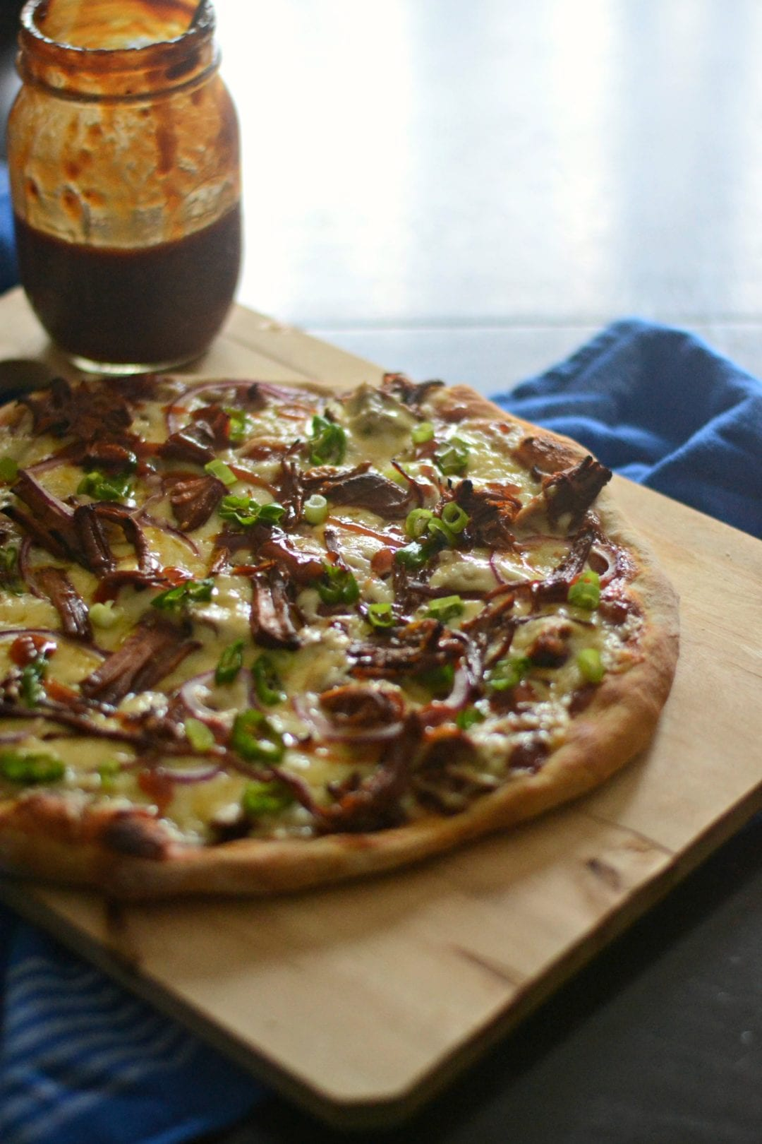 BBQ Pulled Pork Pizza | Sarcastic Cooking