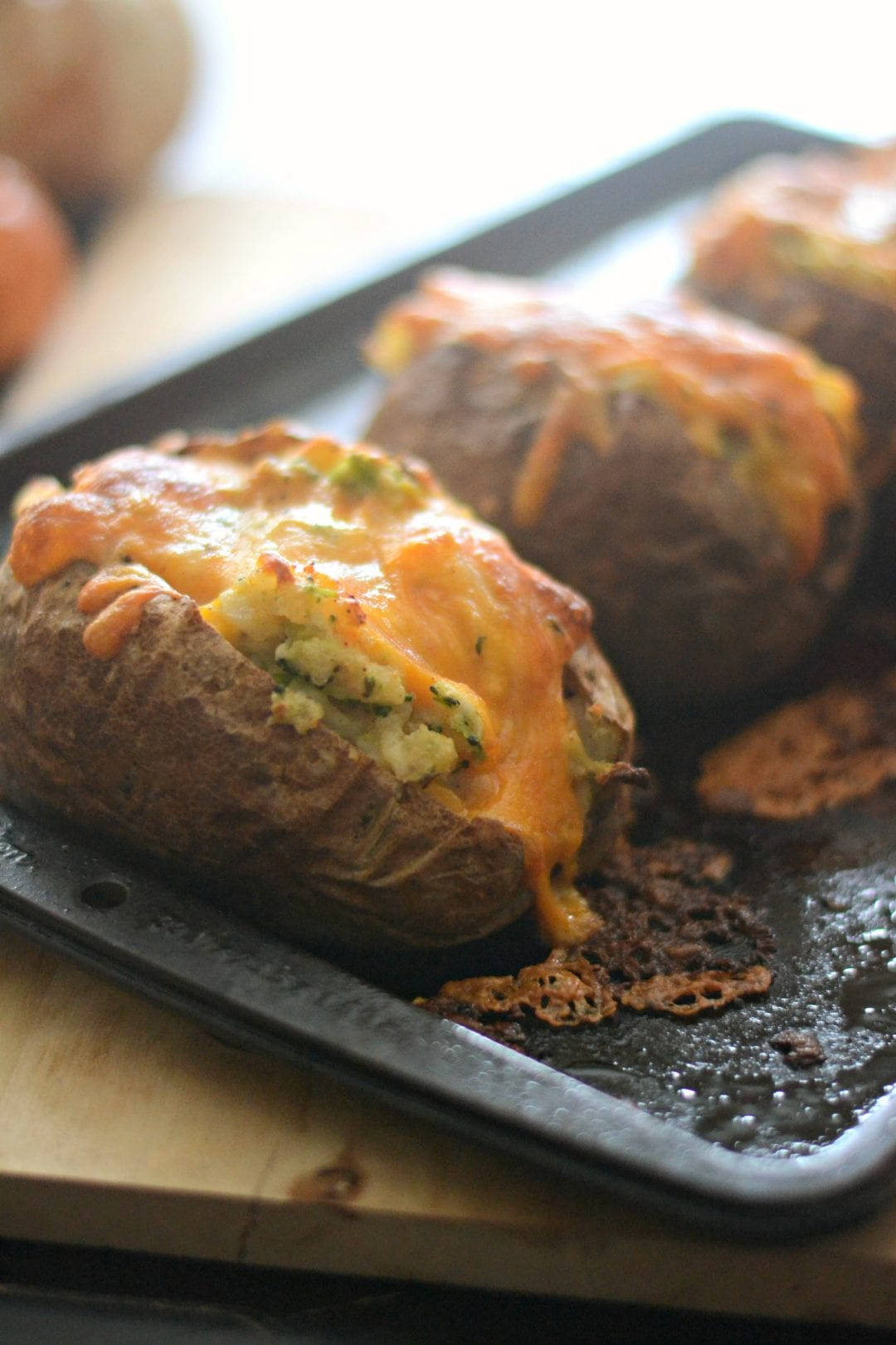 Twice Baked Broccoli and Three Cheese Potatoes | Sarcastic Cooking