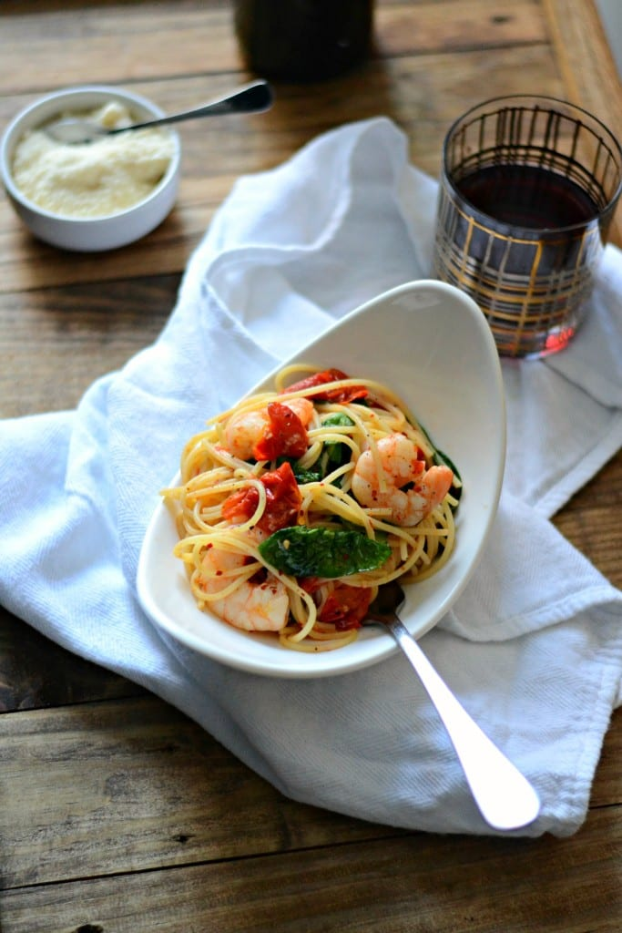 Spicy Lemon Shrimp Pasta| Sarcastic Cooking