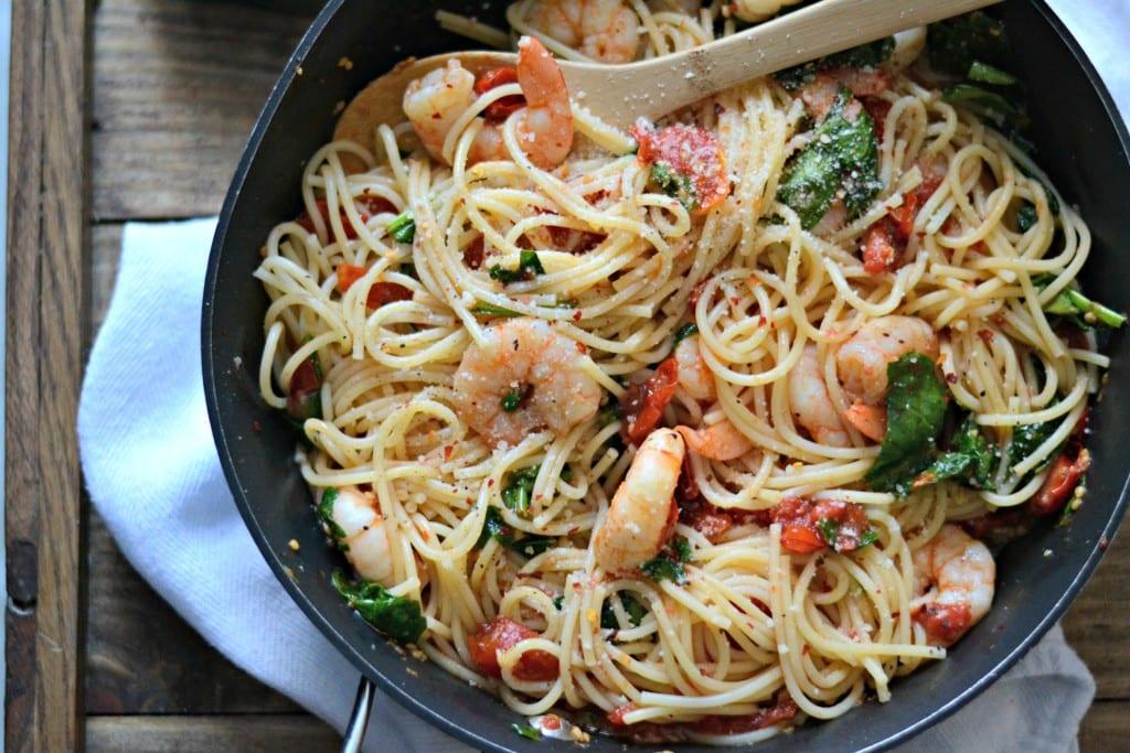 Spicy Lemon Shrimp Pasta | Sarcastic Cooking