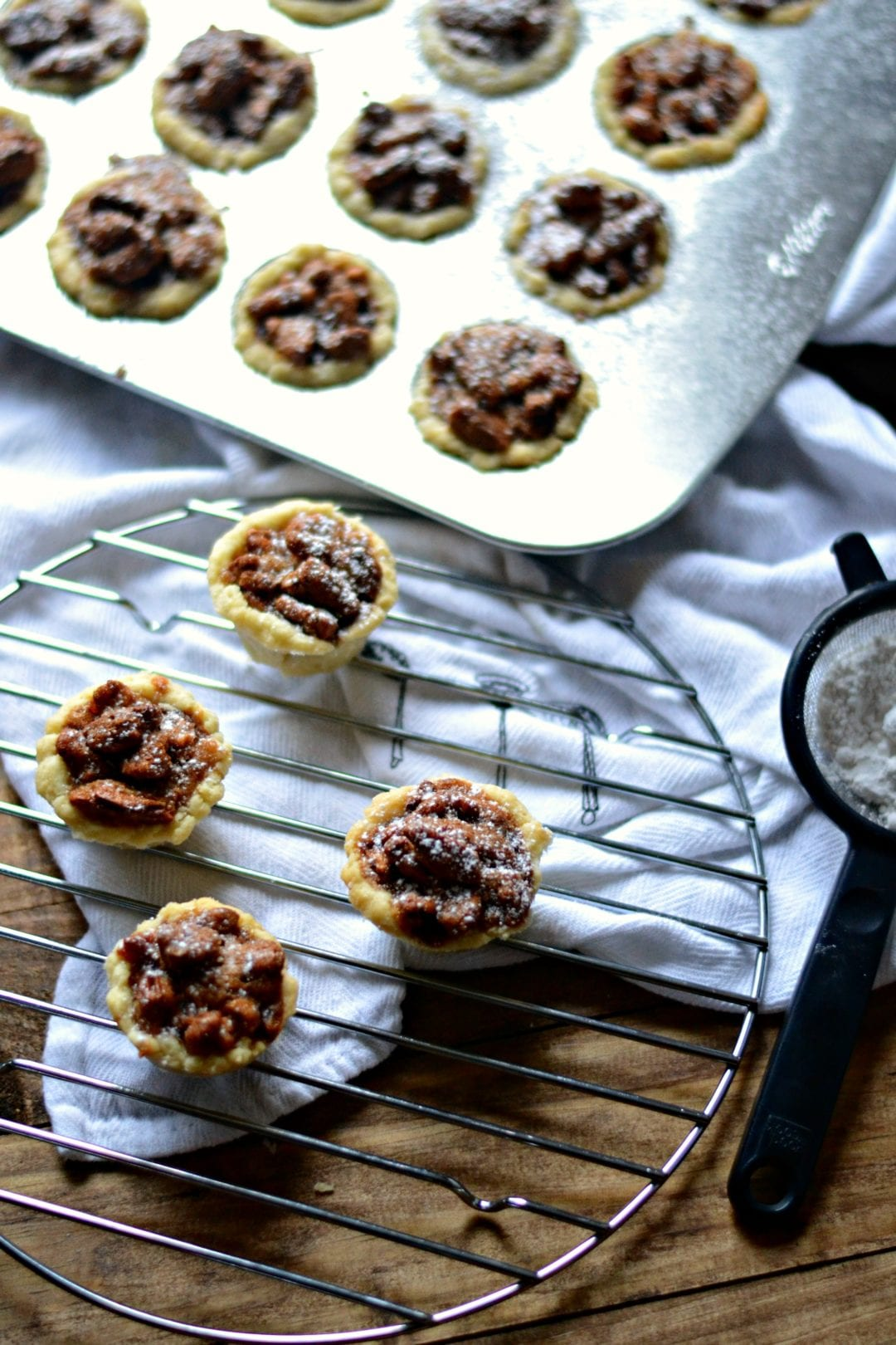 Mini Pecan Pies | Sarcastic Cooking