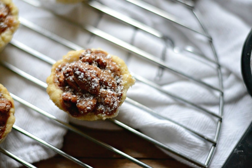 Mini Pecan Pie Bites | Sarcastic Cooking