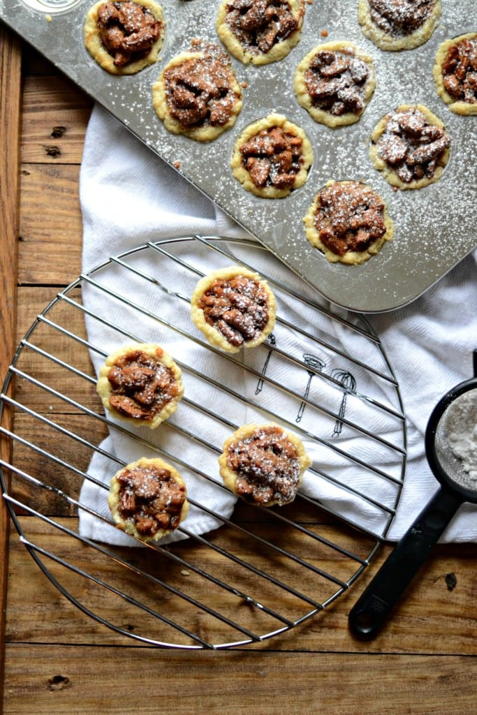 Mini Pecan Pies. An easy way to enjoy a holiday favorite.   Sarcastic Cooking