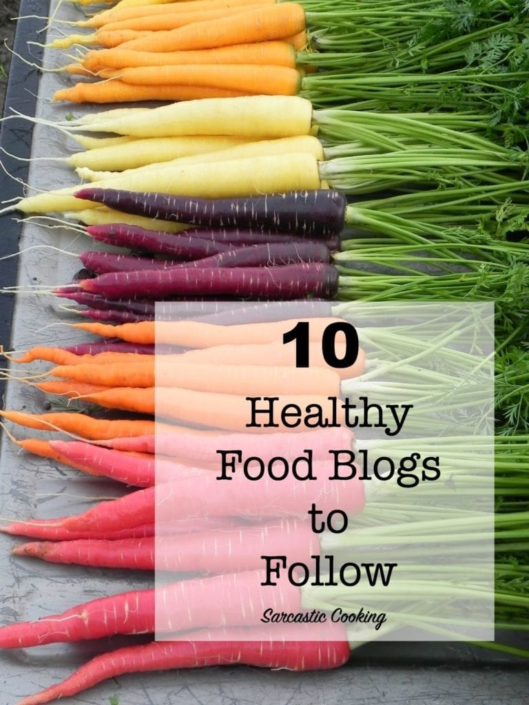 10 Healthy Food Blogs to Follow