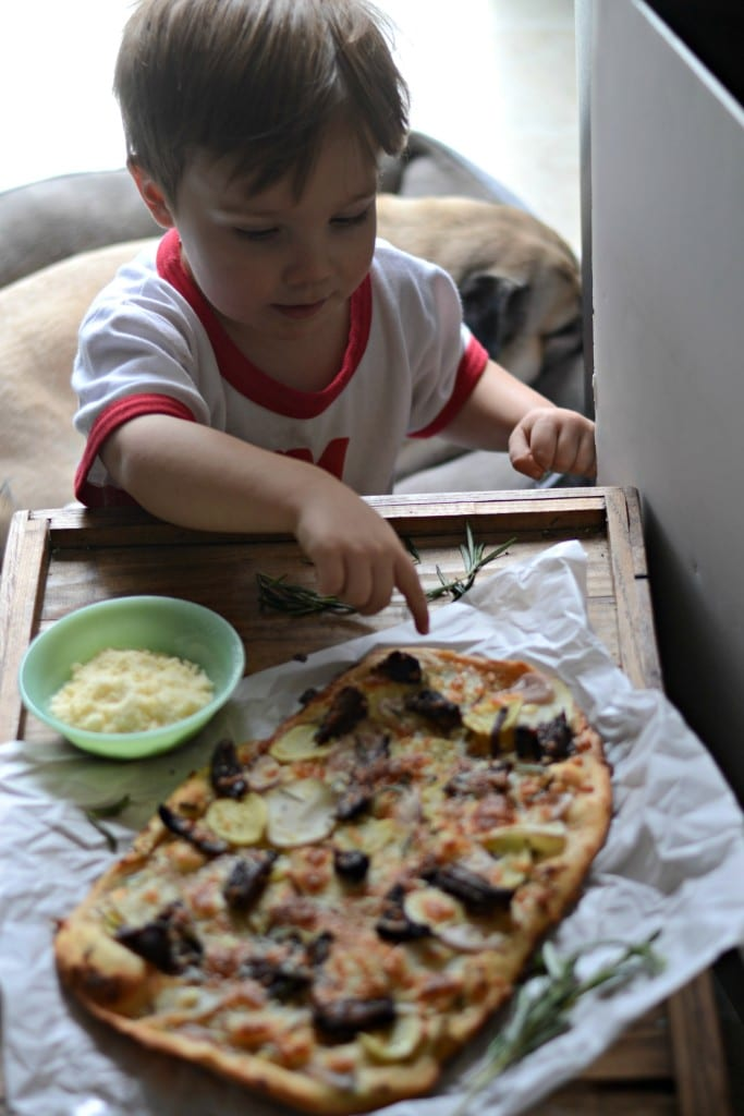Andy and Pizza