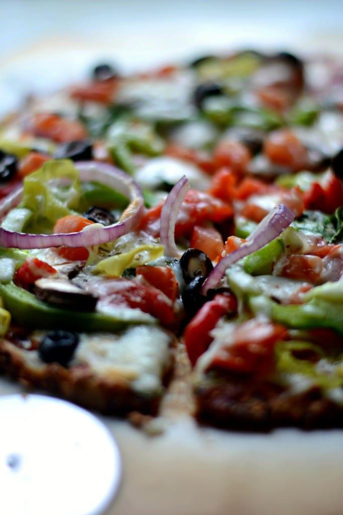 Veggie Supreme Pizza - Sarcastic Cooking