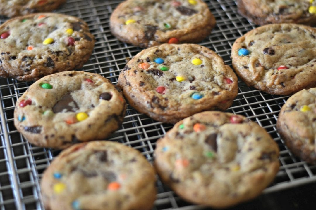Brown butter Chocolate Chip M&M Cookies | Sarcastic Cooking