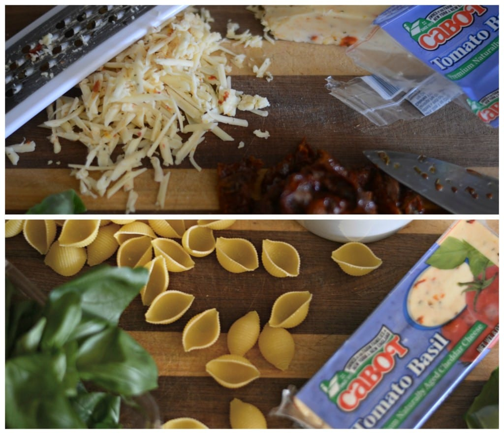 Sundried Tomato Basil Shells and Cheese Sarcastic Cooking