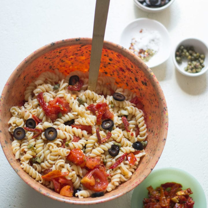 Tomato Lovers Pasta Salad | Sarcastic Cooking